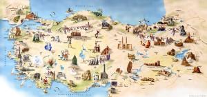 Карта экскурсий в Турции
